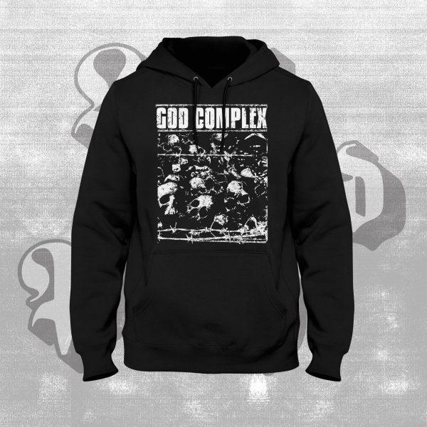 god complex black hoody