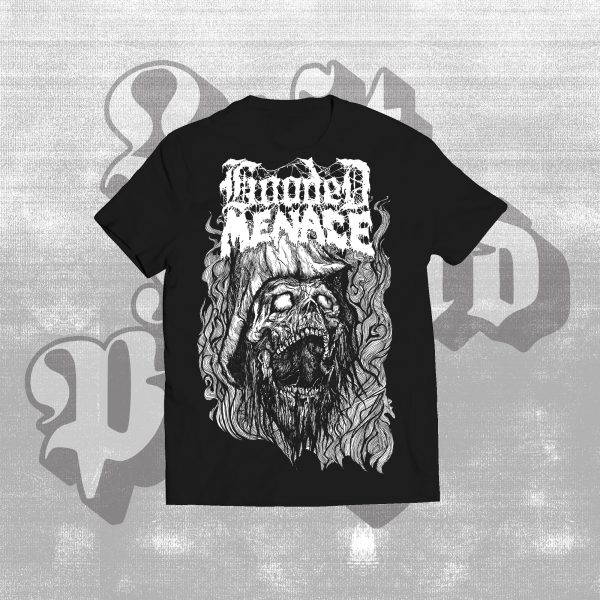 hooded menace hell kettunen black shirt
