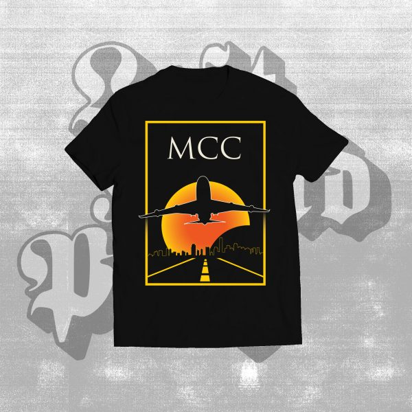 mcc black heart shirt black