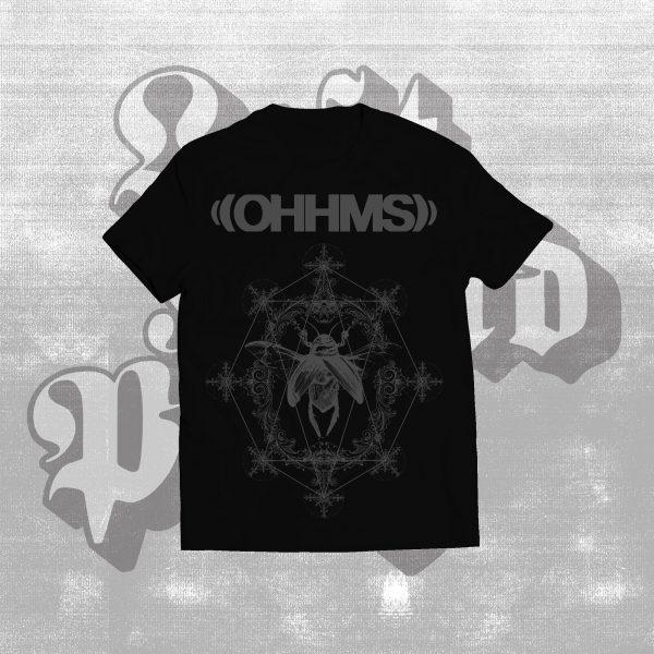 ohhms bloom t-shirt black
