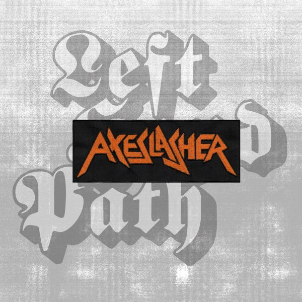 Axeslasher band logo patch