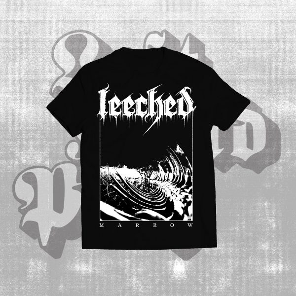 leeched marrow black shirt