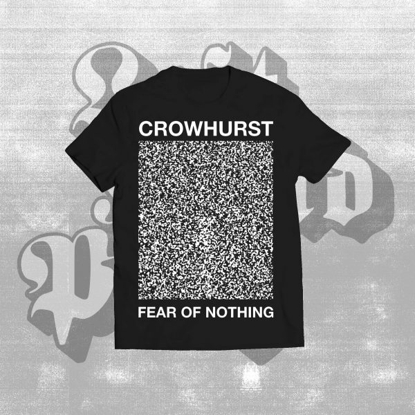 fear of nothing t-shirt black