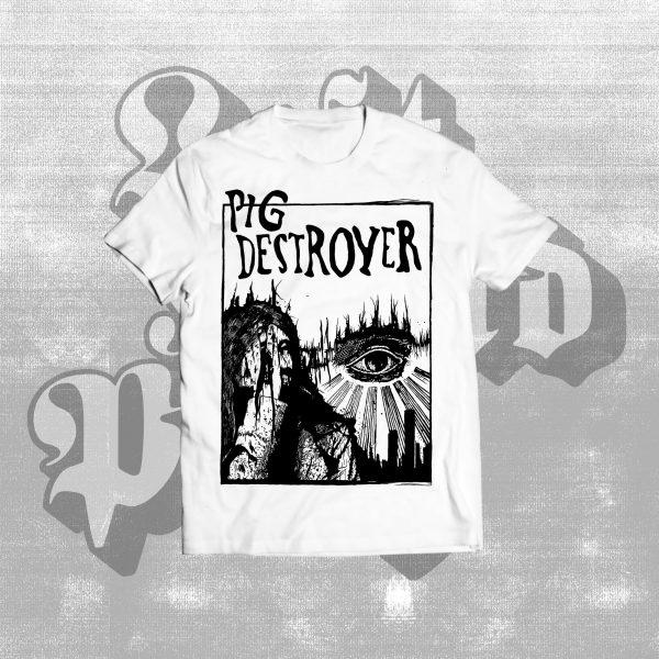 pig destroyer basic witchcraft shirt white