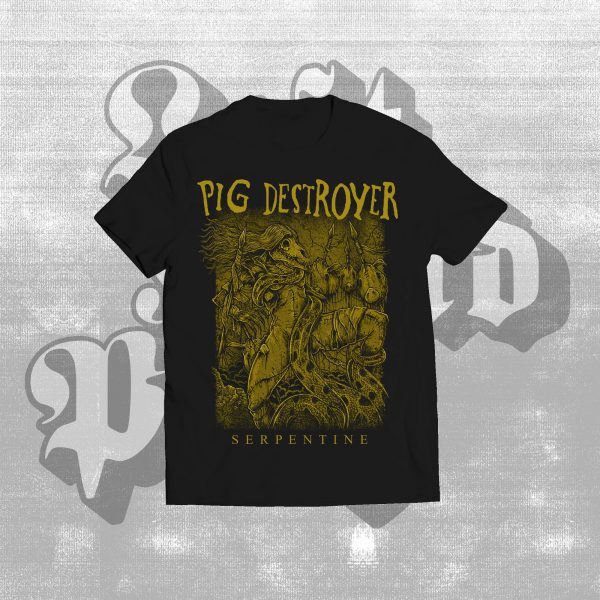 pig destroyer serpine shirt black