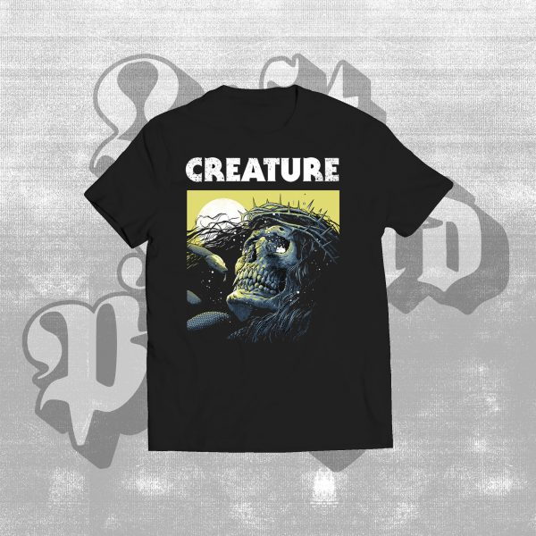 Creature hex shirt black