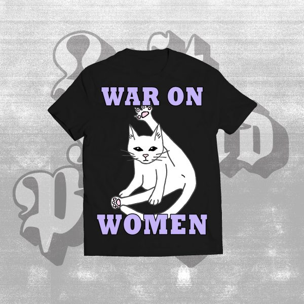 war on cat shirt