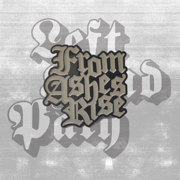 from ashes rise logo pin