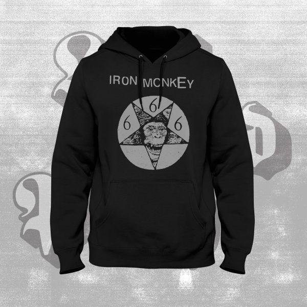 iron monkey monkeygram hoody